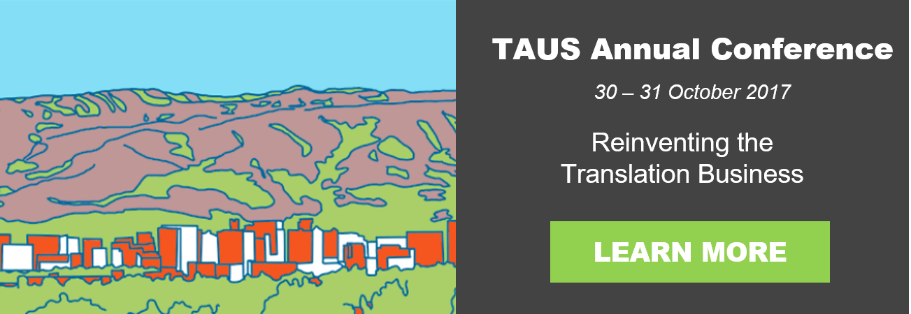 TAUS Annual Conference 2017